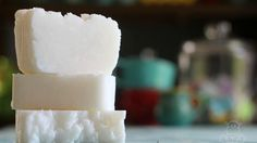 This DIY 3-ingredient coconut oil shampoo bar gently cleanses and moisturizes without leaving heavy or greasy. Includes adaptations for multiple hair types.