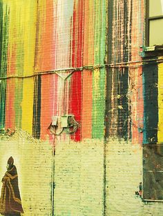 """Street art in Brooklyn captured by Samantha Pleet in the April 2012 issue of Anthropologie's """"The Magazine."""""""