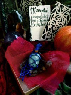 AMAZONITE NECKLACE for throat chakra balancing by Marantul on Etsy