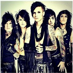 Black Veil Brides <3 Talking about going to Warped Tour this Summer :D