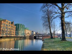 Walk along the Canal. Helmond, Netherlands.
