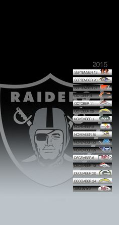 """Search Results for """"oakland raiders 2015 schedule wallpaper"""" – Adorable Wallpapers Raiders Schedule, Raiders Wallpaper, November, Raider Nation, Oakland Raiders, Rebel, Movie Posters, Android, November Born"""