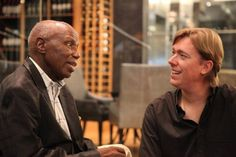 Alf Kumalo and Marc Alexander South African Artists, Couple Photos, Couple Pics, Couple Photography