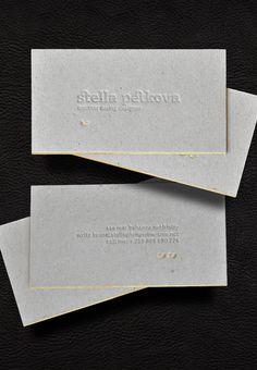 Stella Petkova letterpress business card deign 09