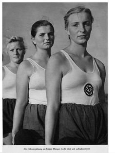The League of German Girls or League of German Maidens, was the girl's wing of the overall Nazi party youth movement, the Hitler Youth.