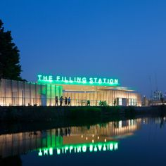The Kings Cross Filling Station  By Carmody Groarke