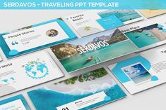Serdavos - Traveling Powerpoint Temp by SlideFactory on @creativemarket