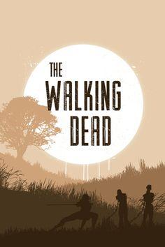 The Walking Dead season 5. 5 more days !!! Can't wait !!!