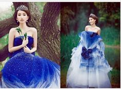 Swithin blue wedding dress formal dress elegant 2013 spring clothes stage - 6. Not my normal style but maybe... http://www.aliexpress.com/item-img/Swithin-blue-wedding-dress-formal-dress-elegant-2013-spring-clothes-stage-6/1126124309.html
