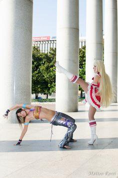 Lili vs Christie Tekken Cosplay