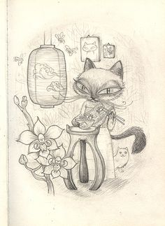 siamese cat by winkelmander, via Flickr