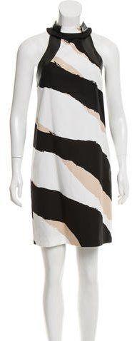 Gucci Sleeveless Printed Dress w/ Tags