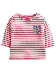 Joules Devon Neon Stripe T-shirt   very.co.uk