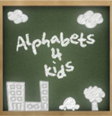 FREE APP! Alphabets4Kids has activities & flash cards to help you teach your kids the alphabet.