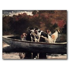 My favorite watercolor by Winslow Homer. He's got a lot of great watercolors. Not easy picking.