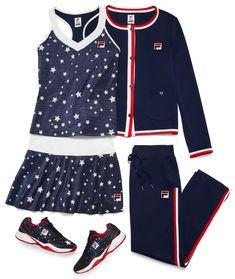 4327132c8af Fila introduces the newest Fila women's Heritage tennis apparel collection  for fall 2018. The newest