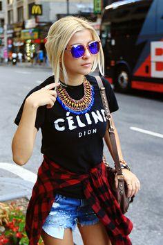 Evelinas Fahsion Cafe-colored sunglasses