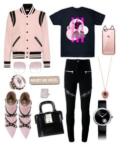 """""""Light Pink DeMarcus Alexan"""" by demarcusalexan ❤ liked on Polyvore featuring Yves Saint Laurent, Valentino, Givenchy, Dsquared2, Henri Bendel, Chanel, Fendi and RIPNDIP"""