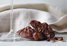 Luscious brownie cookie bites