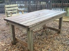 Rustic Outdoor Tables | ... Garden Furniture/Patio Furniture / Garden  Tables /