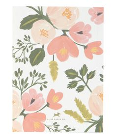Pink Botanical Journal, Rifle Paper Co. Shop more journals from the Rifle Paper Co. collection online at Liberty.co.uk