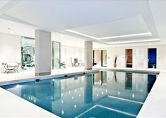 Every great home should have an indoor swimming pool.