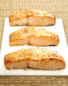 Ginger Roasted Salmon Recipe ... and so simple ... I <3 simple