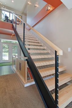 Like the stair case and railing.