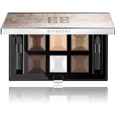 Givenchy Beauty Women's Signature Eye Palette ($66) ❤ liked on Polyvore featuring beauty products, makeup, eye makeup, eyeshadow, beauty, no color, givenchy eyeshadow, givenchy, shiny eyeshadow and givenchy eye shadow