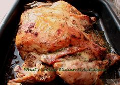 The beer brine for this chicken was so easy and made my whole house smell like baking bread while the chicken cooked.  It's a lot easier than cutting up onions and lemons for the chicken and made the meat so increadably tender.