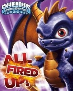 Skylanders birthday supplies and Ideas    For fans of the game and everyone's favorite little purple dragon...