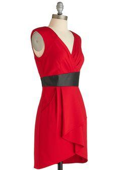 $65 Sure Looks Swanky Dress, #ModCloth