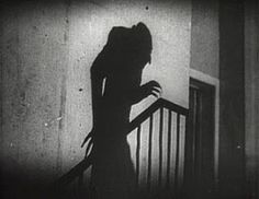 The use of light in movies: Nosferatu's silhouette