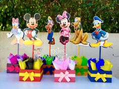 Mickey Mouse Clubhouse birthday party wood por RosiesPoshParties