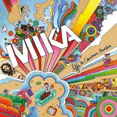 Album Cover Critiques: Mika - Cartoon Covers. Life in Cartoon Motion