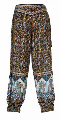 Pantalon bouffant indien - Pantalons - Sarouels - Pantalon - Femmes  bae46c48697