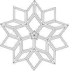 """""""geometric star"""" tattoos - Google Search"""
