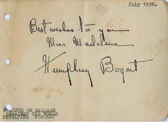 Bogart signature