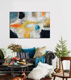 IARTS Tranquil Abstract Art 100% Hand Painted Contemporar... https://www.amazon.com/dp/B01K4OBGJK/ref=cm_sw_r_pi_dp_x_ZS3JybYXRGKR2