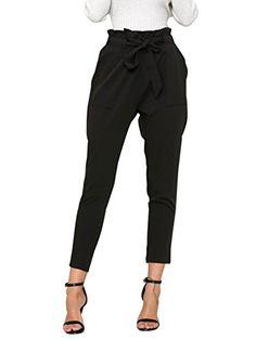 ESRA Damen High Waist Hose Stretch Röhrenhose High Waisted Hose bis Übergröße 48, 50, 52, J189