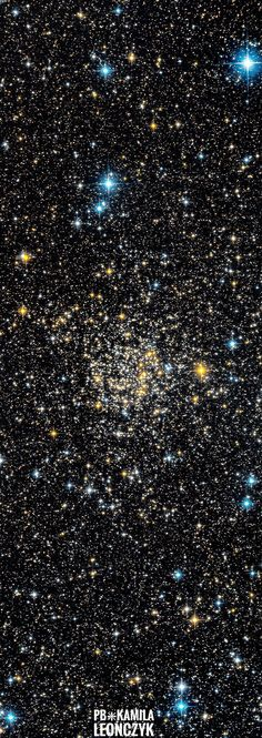 Star cluster NGC 7789 lies about 8,000 light-years away toward the constellation Cassiopeia