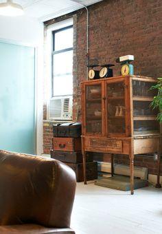 Etxekodeco: Ladrillo y mucho vintage en Tribeca