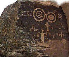 Significant petroglyphs :: El Libertario, Somaliland.