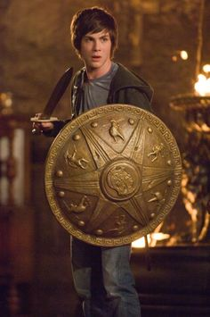 Percy Jackson...love the movie AND the books =)