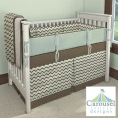 """2nd Floor / In The Montaigne Day Care Nursery """"Rocking Horse"""" Dream Room / Carousel Designs Custom Baby Bedding"""