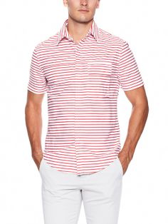 Band of Outsiders Stripe Sport Shirt