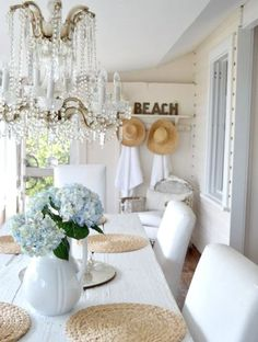 Shabby Chic home decor designs reference 9781338475 to acheive for a really smashing, brilliant bedroom decor. Please push the shabby chic decor romantic webpage at once for further clues. Beach Cottage Style, Beach Cottage Decor, Coastal Cottage, Coastal Living, Coastal Decor, Coastal Style, Nautical Style, Coastal Farmhouse, Cottage Living