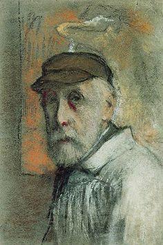 """Edgar DEGAS self-portrait, Not """" Pierre-Auguste Renoir """". Pierre Auguste Renoir, Edouard Manet, Edgar Degas, August Renoir, Impressionist Art, Paul Cezanne, Rembrandt, Claude Monet, Famous Artists"""