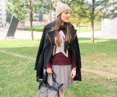 Nos encanta este look preppy de @mybeautrip combinado con jersey burdeos de Florencia. ⭐ #moda #tendencias #look #outfit #preppy #theoutfitoftheday #bestlook #bestoutfit #estilo #style #jersey #newin #thepicofthjeday #fashion #chic #trendy #tagsforlike #instagramers #bloggers #streetstyle