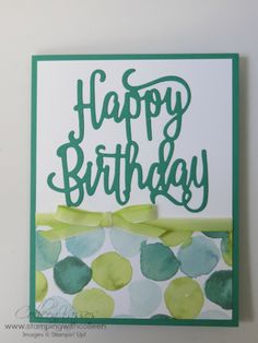 Happy Birthday Gorgeous  Creative Inking Blog Hop  Linda Bauwin  Your CARD-iologist  Helping you create cards from the heart.  www.stampingwithlinda.com